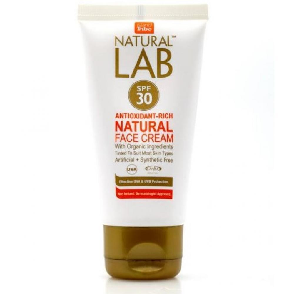Солнцезащитный крем IslandTribe Natural Lab SPF 30 face cream 50 ml